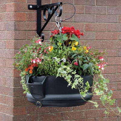 Fullbloom Self Watering Hanging Planters By Glasdon