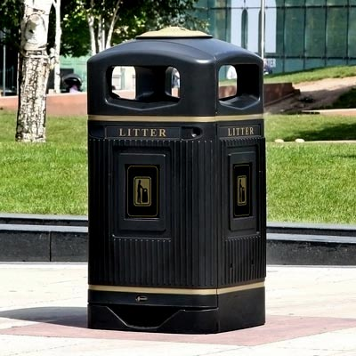 Outdoor Litter Bins External Waste Bins Glasdon Uk