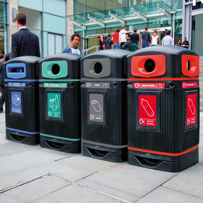 Glasdon Jubilee™ 110 Recycling Bins