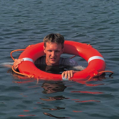 Glasdon Lifebuoy in use
