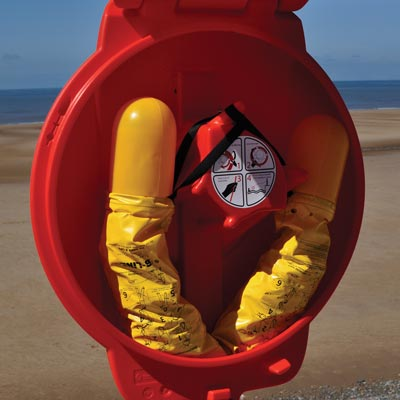 Guardian Lifebuoy Housing with B-Line Throwing Buoys