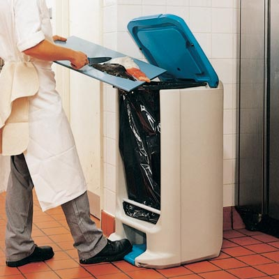 Hippo™ Catering Waste Bin Large capacity pedal bin