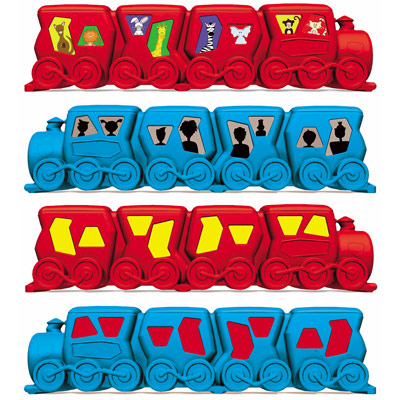 Lo-Co children's seat sticker options