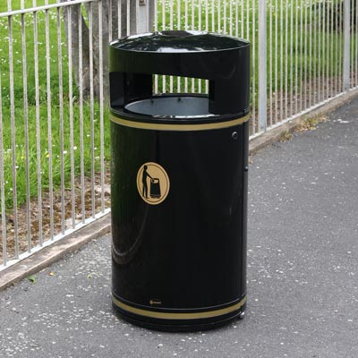 Metal Chieftain™ Litter Bin