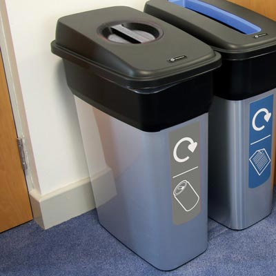 Mirage™ Can Recycling Bin - 80 Ltr