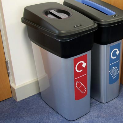 Mirage™ Recycling Bins