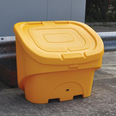 Nestor 400 choice of 2 lids, plain or moulded-in 'grit salt' legend