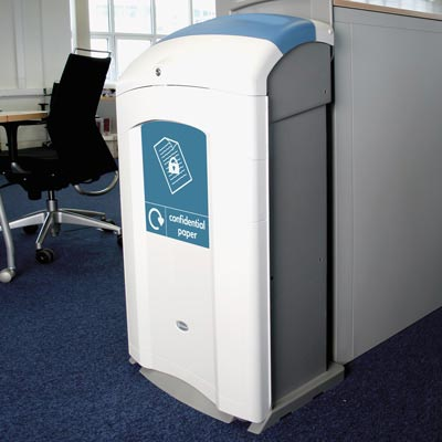 Nexus® 100 Confidential Paper Recycling Bin