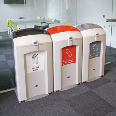Nexus® 100 Recycling Bins