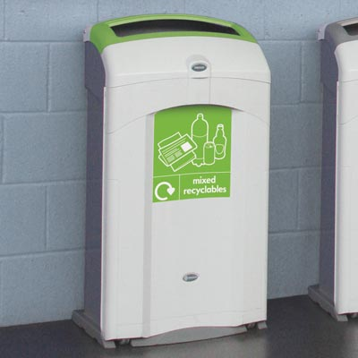Nexus® 100 Mixed Recyclables Recycling Bin