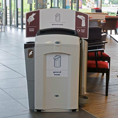 Nexus® 100 Recycling Station