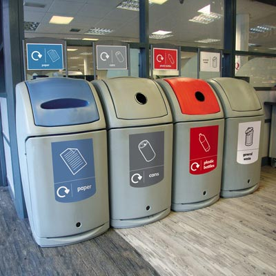 Nexus® 140 Recycling Bins