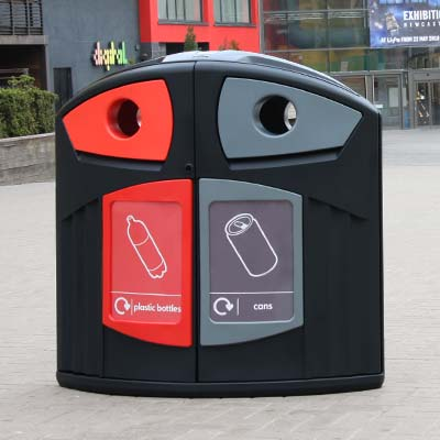 Nexus® 200 Plastic Bottle / Can Recycling Bin