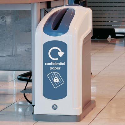 Nexus® 50 Confidential Paper Recycling Bin