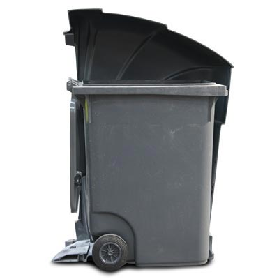 Nexus 360 Cut-away - 360L Wheelie Bin