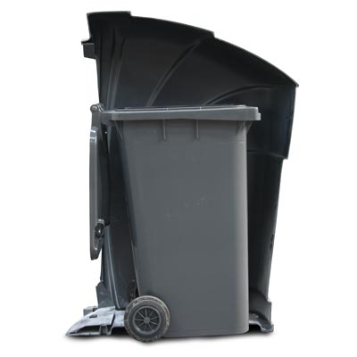 Nexus 360 Cut-away - 240L Wheelie Bin