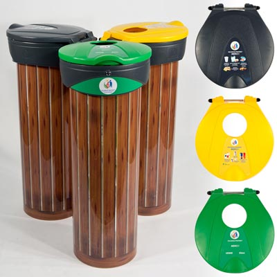 Personalised Orbis bag holder recycling units