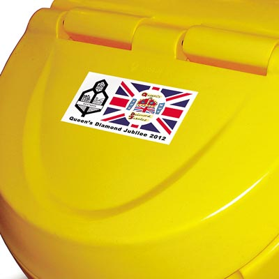 Orbistor grit salt storage container - Personalised