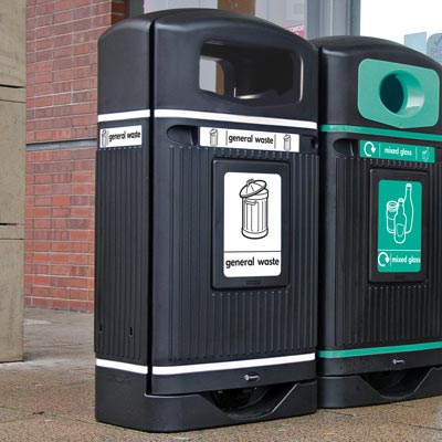 Streamline Jubilee™ General Waste Bin