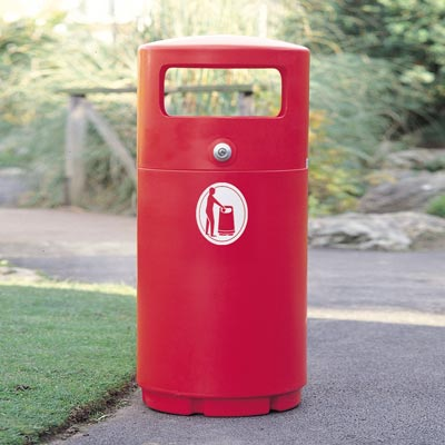 Super Guppy™ Litter Bin
