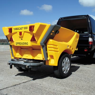 Turbocast 1000™ Towable Salt Spreader