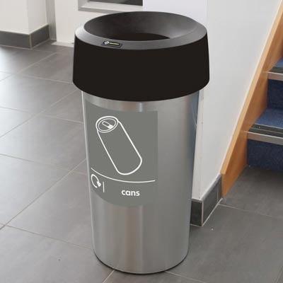 Vista™ Round Can Recycling Bin