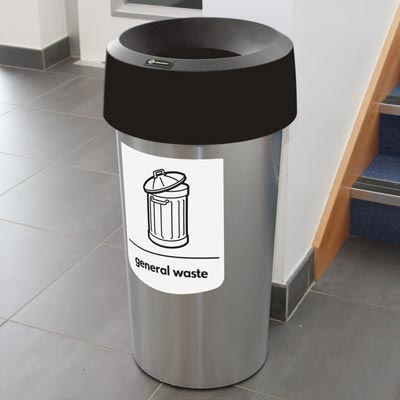 Vista™ Round General Waste Bin