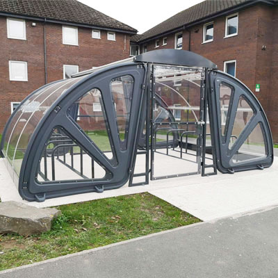Aero™ Corral Cycle Compound Secure Enclosure for up to 20 Bikes