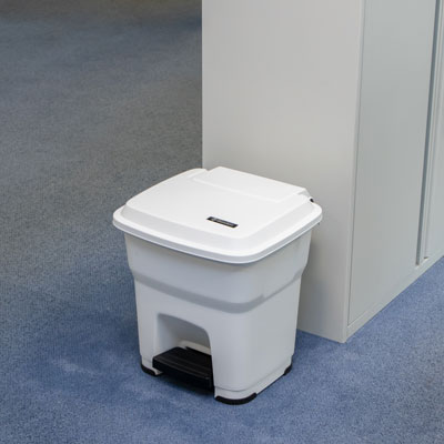 BigFoot™ 35 Pedal Bin Compact Hands-Free Bin with Foot-Operated Pedal