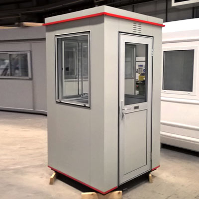 Boxer™ Plastic Coated Steel Kiosk BX242