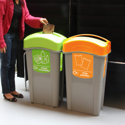 Eco Nexus® 85 Crisp Packet Recycling Bin