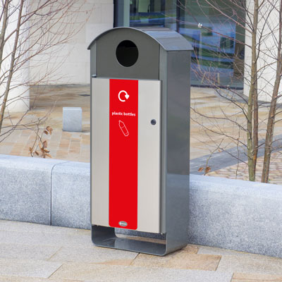 Electra™ Curve Recycling Bins