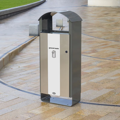 Electra™ Curve 60 General Waste Recycling Bin