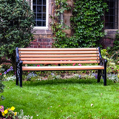 Recycled Plastic Park Benches Street Furniture Glasdon Uk