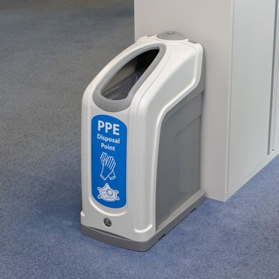 Nexus® 50 PPE Waste Bin Ideal for Offices & Reception Areas