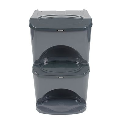 Nexus® Stack Home 60 Recycling Bins Double & Multi Compartment - 60 Litres