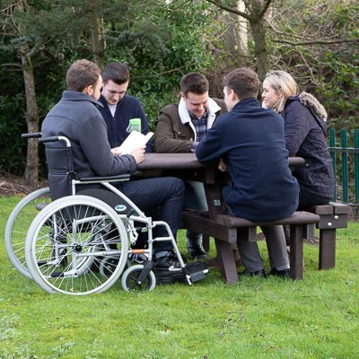 Pembridge™ Picnic Table with Wheelchair Access