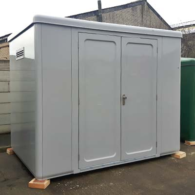 Garrison™ GRP Housing 3.16 x 2.16 x 2.5m clear internal height