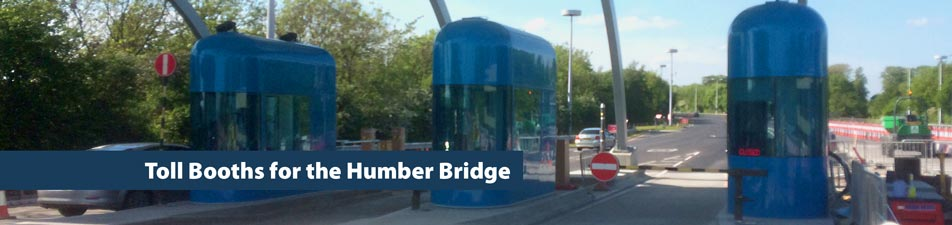 Toll Booths for the Humber Bridge
