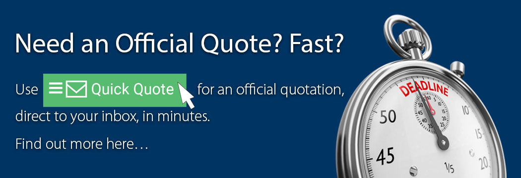 Quick Quote - official Glasdon quotes direct to your inbox in minutes